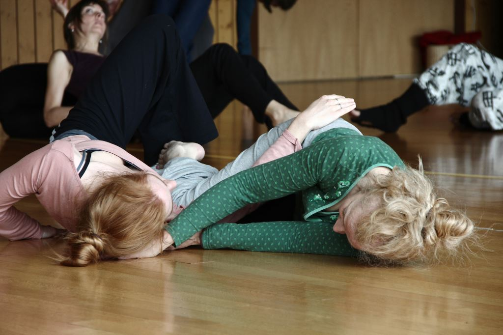 Contact Improvisation Stuttgart 2015