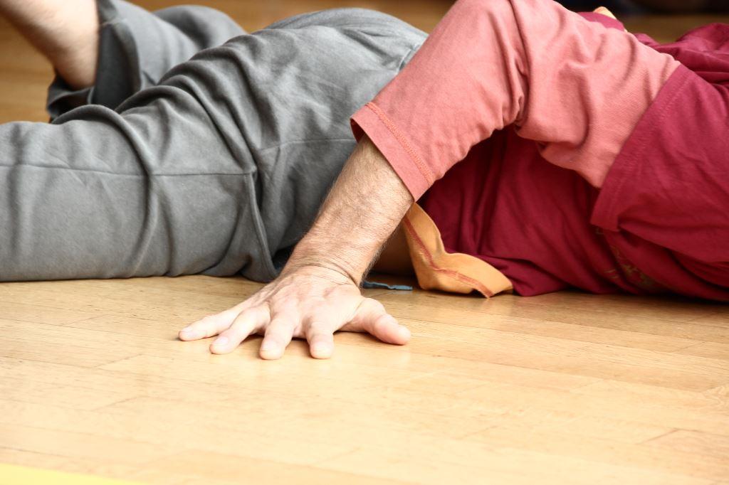 der Boden ist der erste Partner im Tanz...
