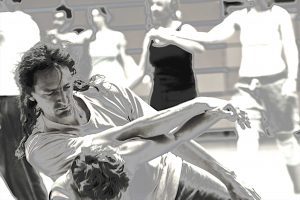 Contact Improvisation mit Benno Enderlein