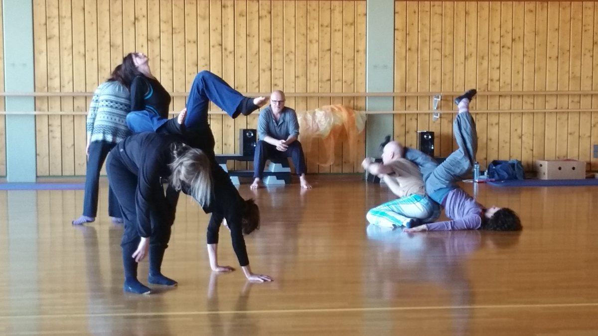 Thomas Kampe Contact Improvisation und Feldenkrais Stuttgart 2017