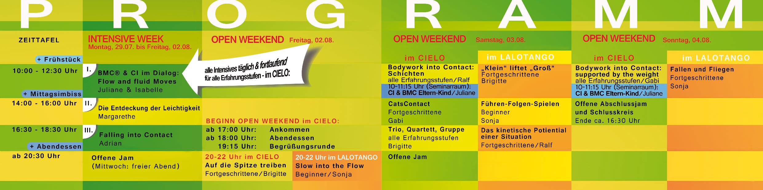 Contact Festival Stuttgart 2019